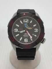 自動巻腕時計/アナログ/ラバー/BLK/×STI/国内300本限定/M-FORCE