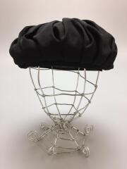 ベレー帽/2020AW/シワギャバタックベレー/NR-H01-100/--/ウール/BLK