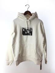 19AW/Velvet Underground Hooded Sweatshirt/パーカー/S/コットン/WHT