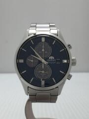 腕時計/KSA0-UAA0/クロノグラフ/アナログ/BLU/ブルー/青/SLV/シルバー