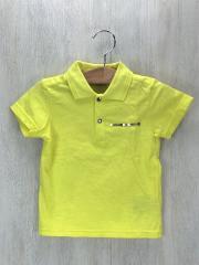 ポロシャツ/--/コットン/YLW/DIORロゴ/ファスナー/M11HPOL1/スナップ/4Aサイズ/シンプル