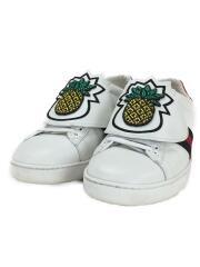 ローカットスニーカー/Ace Pineapple/パイナップル/37/23cm/WHT/レザー/セカスト