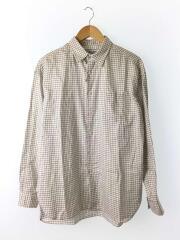 18SS/thomas mason/big shirts/長袖シャツ/2/コットン/181-60301/チェック