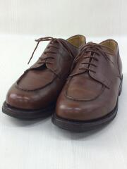 ドレスシューズ/UK8.5/ブラウン/茶色/革/レザー/CHAMBORD/シャンボード/靴/レースアップシューズ  Uチップ 外羽根