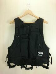 ナイロンベスト/M/ナイロン/ブラック/黒/無地/20SS/RTG Vest/フィッシングベスト