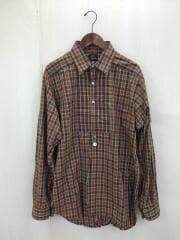 Tuxedo EDW Gather Shirt/20SS/長袖シャツ/L/コットン/マルチカラー/チェック
