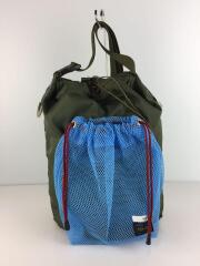 19SS/MESH BAG/ショルダーバッグ/ナイロン/カーキ/ブルー/メッシュバッグ/日本製/