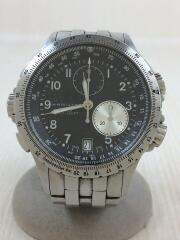 クォーツ腕時計/アナログ/ステンレス/BLK/SLV/H776120/H776120/カーキETO