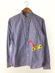 20SS/BAGGAGE TAG B.D. SHIRT/UE-200018/長袖シャツ/2/ストライプ/ブルー