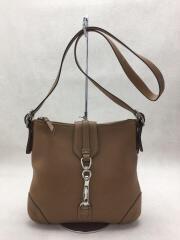 ショルダーバッグ/レザー/ブラウン/キャメル/8A68/bag/カバン/鞄/シグネチャー