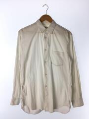 NARROW CLASSIC FIT SHIRT/長袖シャツ/M/コットン/ホワイト/無地/CDGS2PL