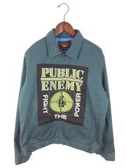 18SS/×UNDERCOVER/Public Enemy Work Jacket/ワークジャケット/M/