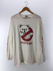 BEAR BUSTERS/長袖Tシャツ/FREE/コットン/ホワイト/プリント/01181CL01/ロンT