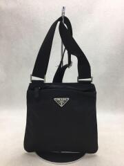 ミニショルダーバッグ/ナイロン/ブラック/黒/カバン/鞄/ポーチ/ポシェット