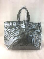 トートバッグ/PVC/ビニール/キャンバス/ロゴ/301371/ショルダートート/カバン/鞄