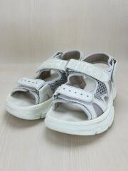 19-20AW/Leather and mesh sandal/レザー&メッシュサンダル/US9/ホワイト/レザー