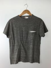 ポケT/KS6SCS03/霜降り/Tシャツ/36/コットン/グレー