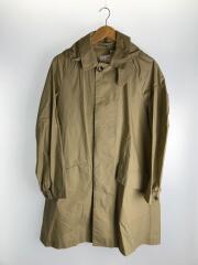 16SS/Water Proof Poplin Coat/ステンカラーコート/M/コットン/ベージュ/使用感