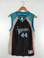 90s/WNBA/ROCKERS/EDWARDS/MADE IN USA/バスケタンク/M/ナイロン/ブラック