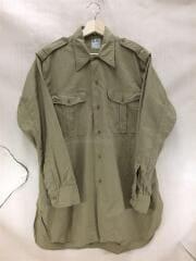 VINTAGE/M-47/C4/長袖シャツ/コットン/ベージュ