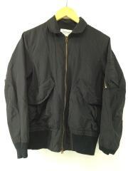 フライトジャケット/ブルゾン/M/ブラック/黒/ナイロン/1655102804