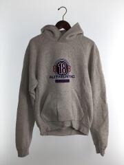 BB18 printed hooded sweater/パーカー/S/コットン/グレー/508118 TYK82