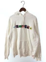 18SS/Bless Hooded Sweatshirt/パーカー/L/コットン/ホワイト/白