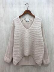 セーター(厚手)/S/ウール/BEG/DEBORAH L-WOOL PAW16