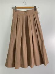 ロングスカート/34/ポリエステル/BEG/タスランツイールスカート/11-05-74-05203