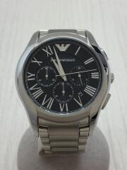 クォーツ腕時計/アナログ/ステンレス/BLK/AR-11083