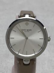 クォーツ腕時計/アナログ/SLV/BEG
