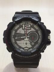 クォーツ腕時計・G-SHOCK/アナログ/BLK/GAC-110-1AJF/クロノグラフ/カシオ