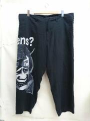 18AW/Draw String Pants/般若/紐ワイドパンツ/1/テンセル/ブラック/黒/中古