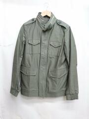 16AW/M-65 BLOUSON/ミリタリージャケット/4/コットン/カーキ/緑/中古