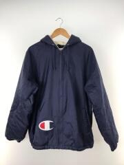 ×Champion/17AW/SherpaLinedHooded Jacket/マウンテンパーカ/L/ネイビー