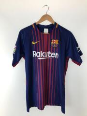 ナイキ/バルセロナ/メッシ/MESSI/10/ユニフォーム/Tシャツ/スポーツウェアー/L/BLU