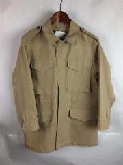ジャケット/1/コットン/ベージュ/無地/Washed Double Cloth Field Jacket