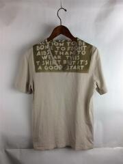 15SS/エイズT/メゾンマルジェラ/Tシャツ/S/コットン/BEG/S30GC9986
