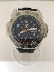 ルミノックス/クォーツ腕時計/アナログ/ラバー/BLK/3250-1GBQ