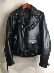 カドヤ/ks leather/ダブルライダースジャケット/ライナー付/S/KZSJEPWR-431