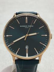 GIORGIO FEDON/ジョルジオ フェドン/クォーツ腕時計/アナログ/レザー/GFBU-VJ42