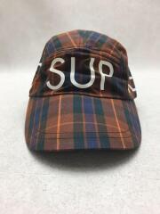 シュプリーム/1994 Sport Cap/キャップ/--/コットン/BRW/チェック