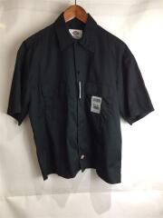 × MONKEY TIME/ディッキーズ/ワークシャツ/半袖シャツ/M/BLK/8316-499-0158
