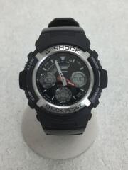 クォーツ腕時計・G-SHOCK/デジアナ/BLK/AW-590-1AJ