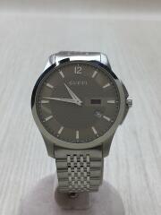 Gタイムレス/クォーツ腕時計/アナログ/ステンレス/YA126309
