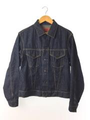 18SS/DENIM JACKET RECORD3/10oz WORKER/Gジャン/36/デニム/IDG