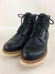 VIRGIL BOOTS-FOLK HORSEHIDE/ブーツ/US10/BLK/レザー/0118102002005