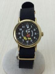 MickyWatch/ミッキーウォッチ/クォーツ腕時計/アナログ/BLK/BLK/M30-01