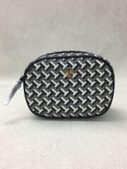 TILE T COSMETIC POUCH/コスメティックポーチ/PVC/BLK/総柄/64205