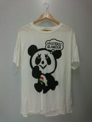 レイボーパンダTシャツ/FREE/コットン/WHT/01181CT07